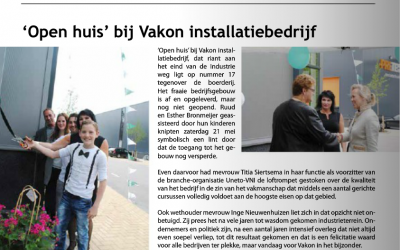 Artikel in Seniorenmagazine Voorschoten